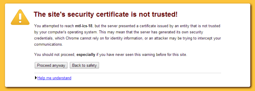 What is SSL error?